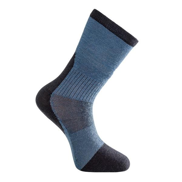 Woolpower Skilled Liner Classic Socken, dark navy / nordic blue