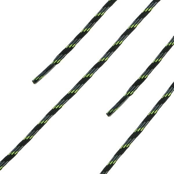 HAIX Schnürsenkel, rund, schwarz-grün