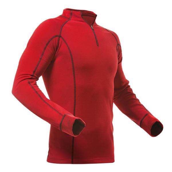 Pfanner Merino-Modal Shirt langarm rot