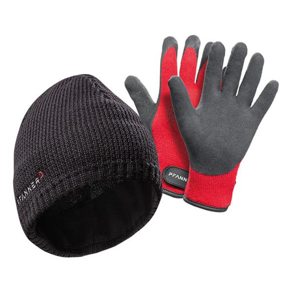 Pfanner Mütze Falcon + Ice-Grip Handschuhe