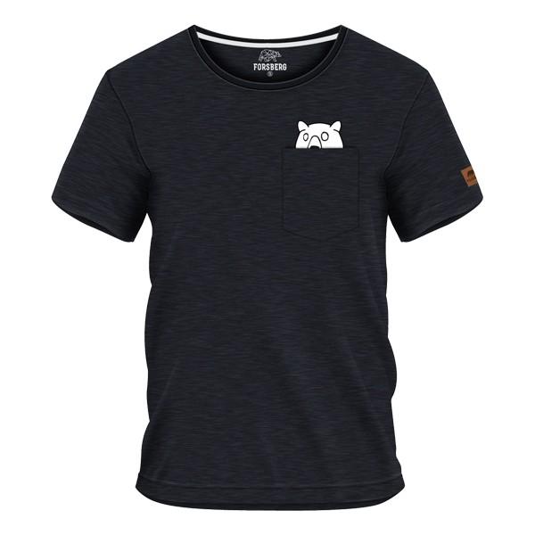 FORSBERG Ragnarson T-Shirt mit Brusttasche