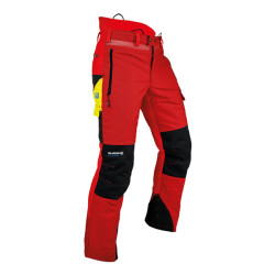 Pfanner Ventilation Schnittschutzhose rot XS