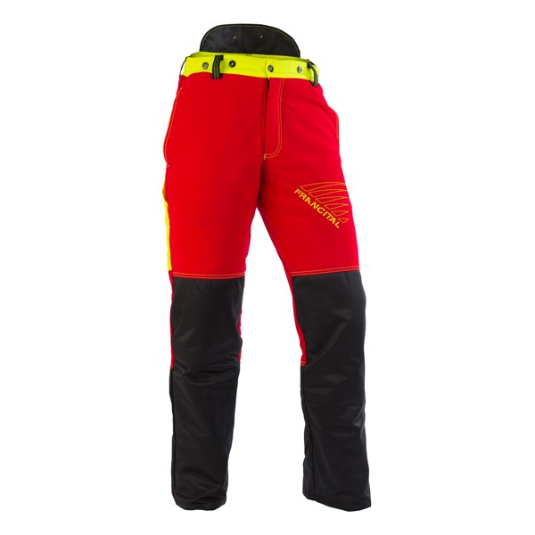 Forst-Extrem® Beginner Schnittschutzhose rot