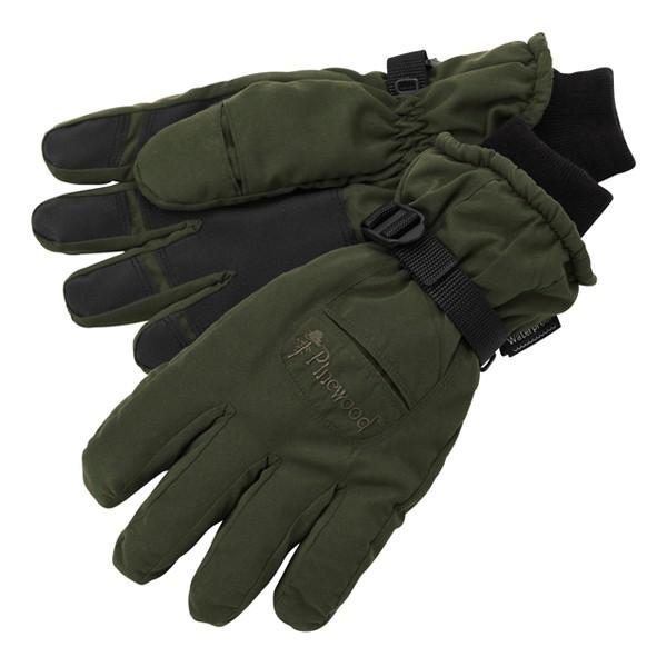 Pinewood Membran Jagd Handschuhe moosgrün