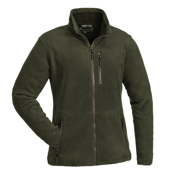 Pinewood Finnveden Fleece Jacke Damen Grün