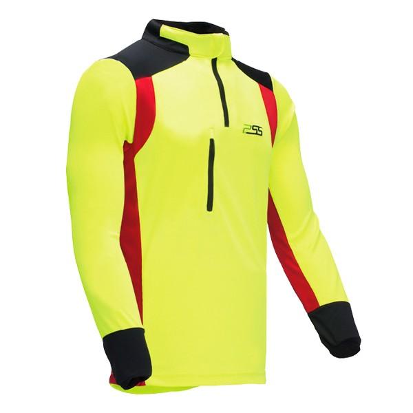 PSS X-treme Skin Shirt langarm gelb-rot