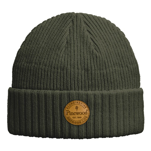 Pinewood Windy Mütze Moosgrün