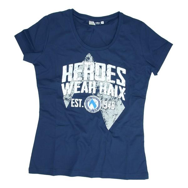 Haix HEROES T-Shirt Women blau