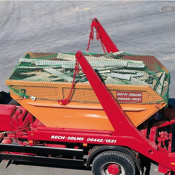 Container Abdecknetz