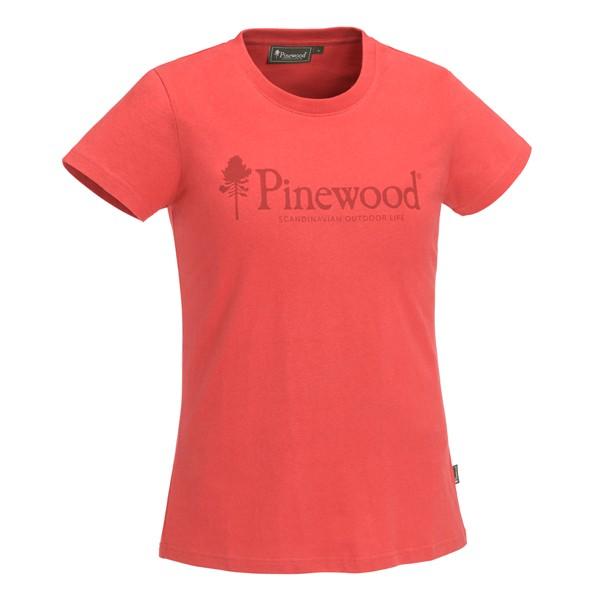 Pinewood Outdoor Life T-Shirt Damen Coral