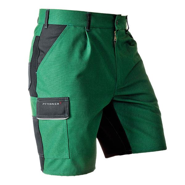Pfanner StretchZone Canvas Short grün-schwarz