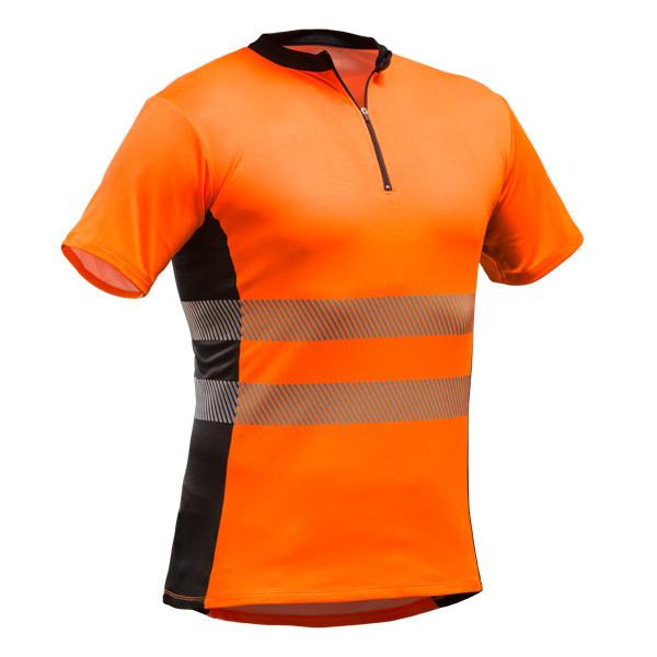Pfanner Tencel-Poly Zip-Neck Shirt EN20471