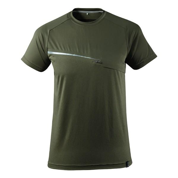MASCOT Advanced T-Shirt moosgrün
