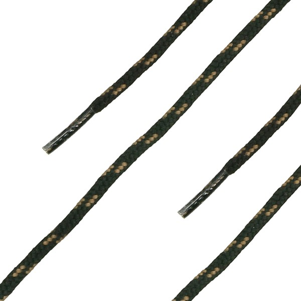 HAIX Schnürsenkel, rund, schwarz-braun