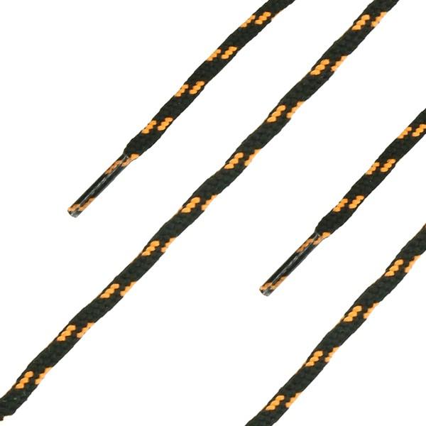 HAIX Schnürsenkel, rund, schwarz-orange