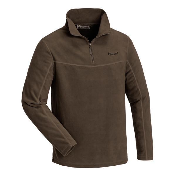 Pinewood Tiveden Sweater Wildlederbraun