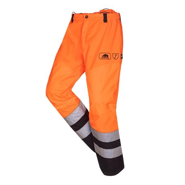 SIP Protection Greenkeeper Vent Flash Freischneiderhose EN20471 orange