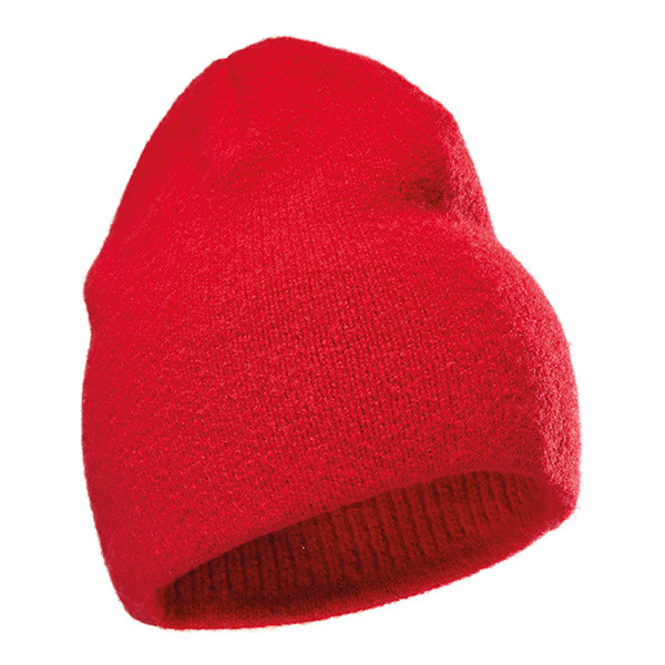 Pfanner Wollfilzhaube rot