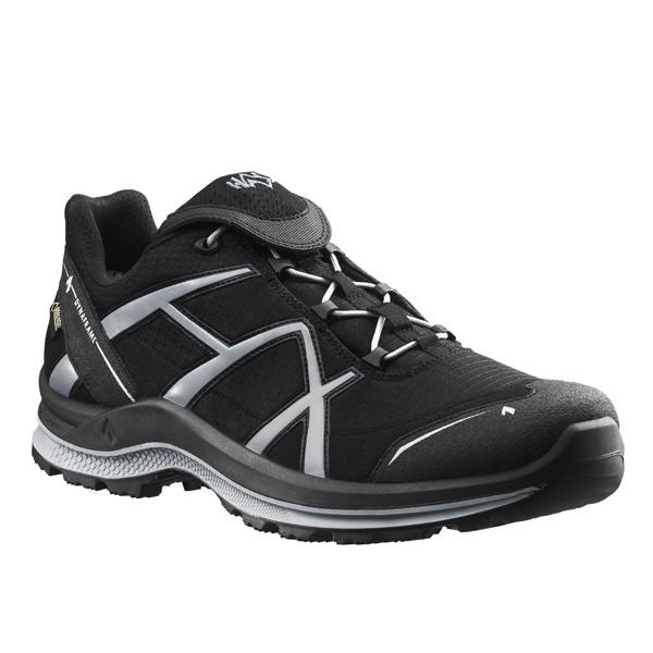 HAIX Black Eagle Adventure 2.0 GTX Schuhe schwarz-silber