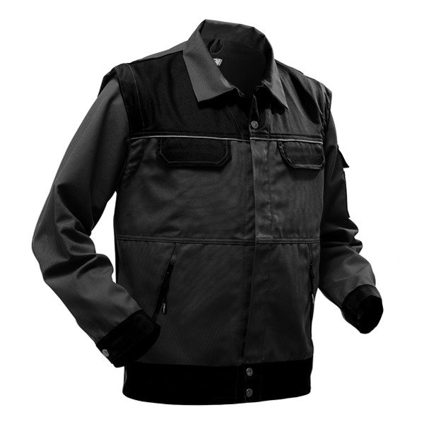 Pfanner StretchZone Canvas Arbeitsjacke - Black Edition