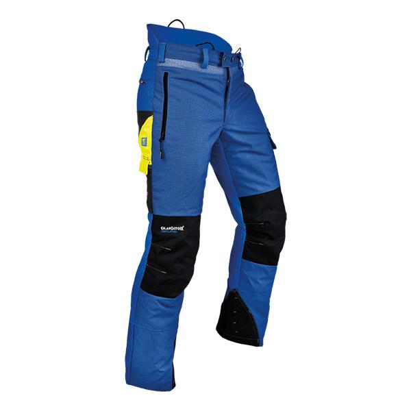 Pfanner Ventilation Schnittschutzhose blau