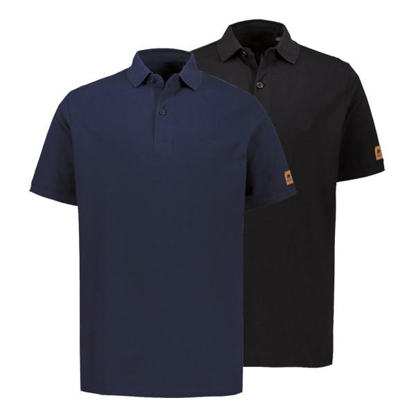 FORSBERG Polo-Shirt 2er-Set - Schwarz / Marine