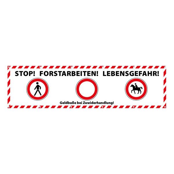 Absperrbanner Forst-Extrem® 3,0m x 0,8m