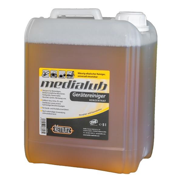 Kettlitz Medialub Gerätereinger Konzentrat - 5 Liter