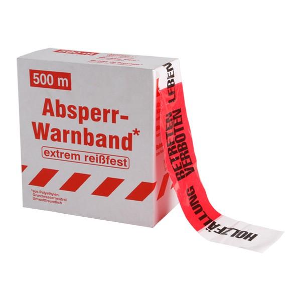 Folien-Warnband 500m