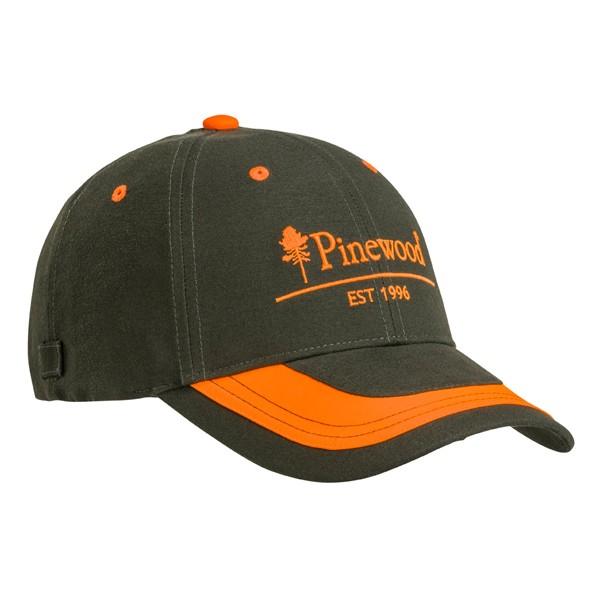 Pinewood 2-Color Cap Moosgrün-Orange