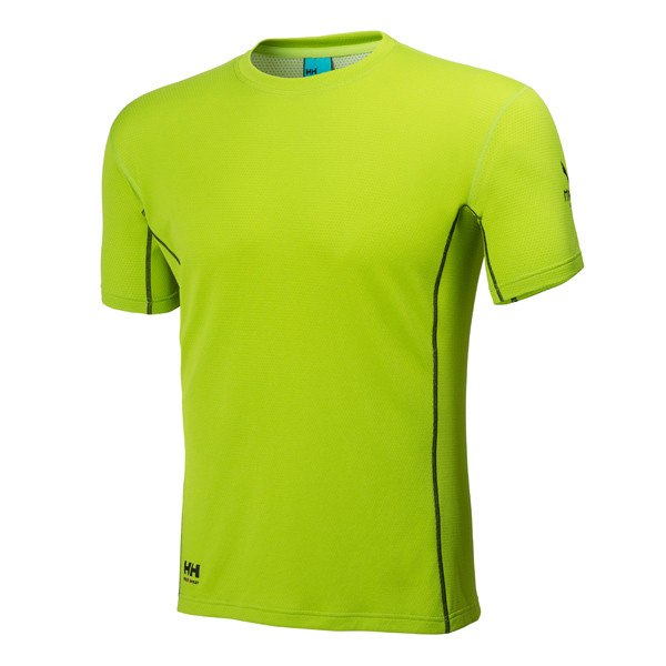 Helly Hansen Magni Funktionsshirt kurz - dark lime
