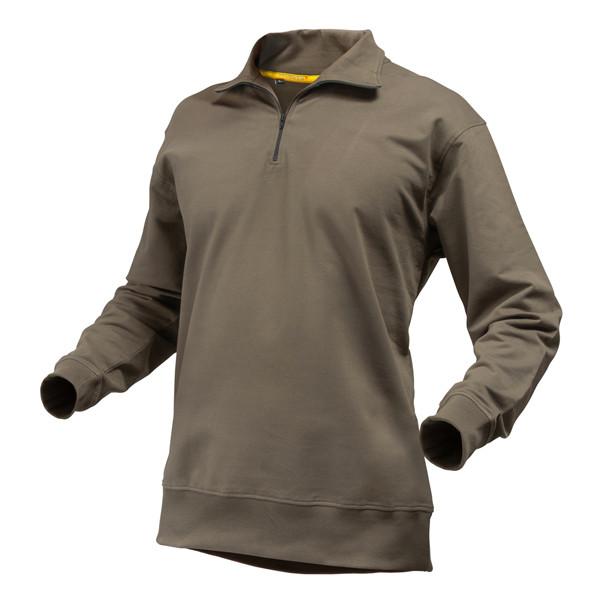 Pfanner Quarter Zipp-Neck Sweater waldgrün