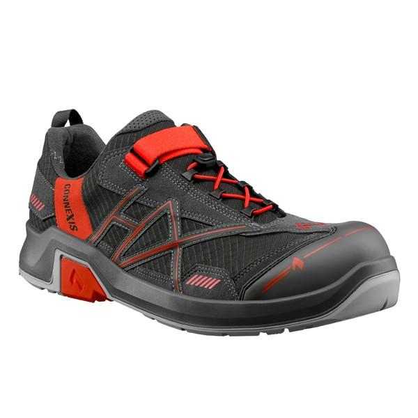 Haix CONNEXIS Safety T S1 low Sicherheitsschuh grey-red