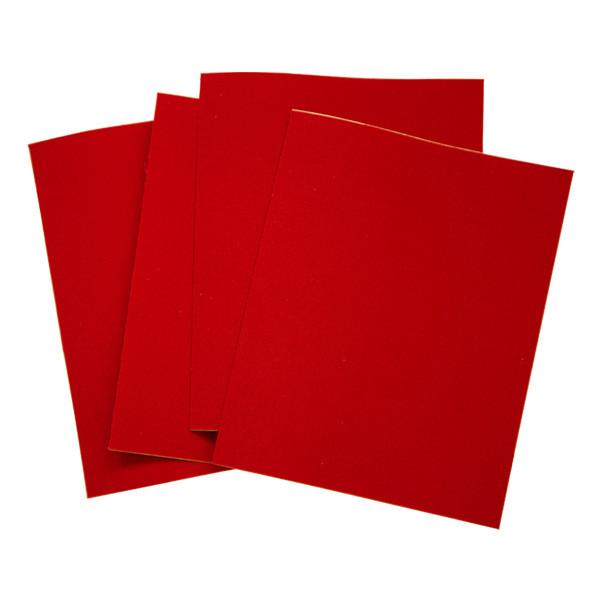 Pfanner Flickstoff Textilbogen rot