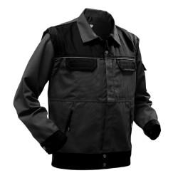 Pfanner StretchZone Canvas Arbeitsjacke - Black Edition