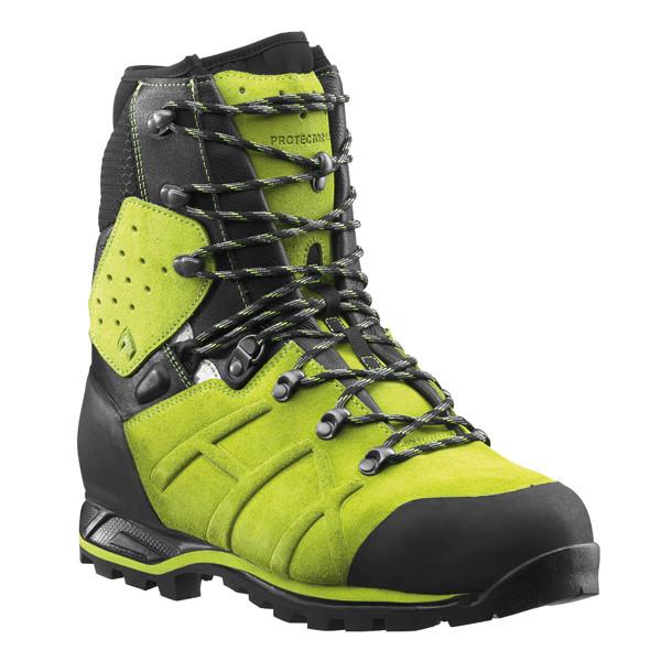 HAIX Protector Ultra Schnittschutzstiefel lime green